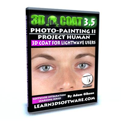 3D Coat 3.5 Photo Painting II-Paint a Human Using Photos