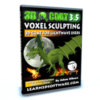 3D Coat 3.5 for Lightwave Users-Voxel Sculpting: Project Dragon