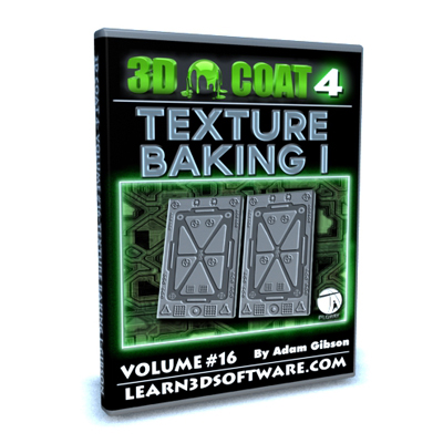 3D Coat 4- Volume #16- Texture Baking I
