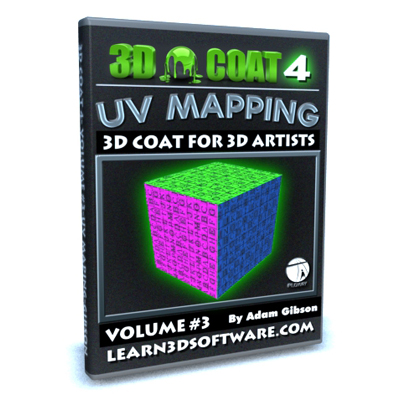 3D Coat V4-Volume #3-UV Mapping I