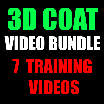 3D Coat Bundle-7 Training Videos-by Adam Gibson
