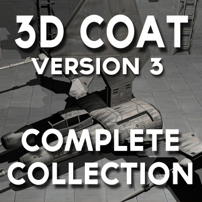 3D Coat Version 3 -Complete Collection (15 Titles)