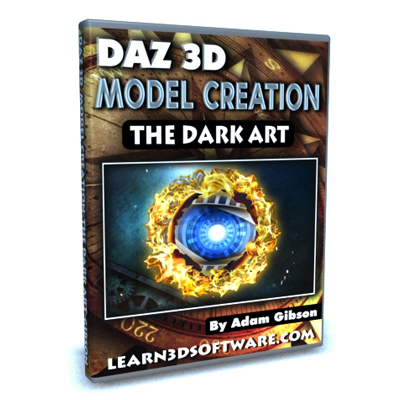 DAZ 3D Model Creation- The Dark Art