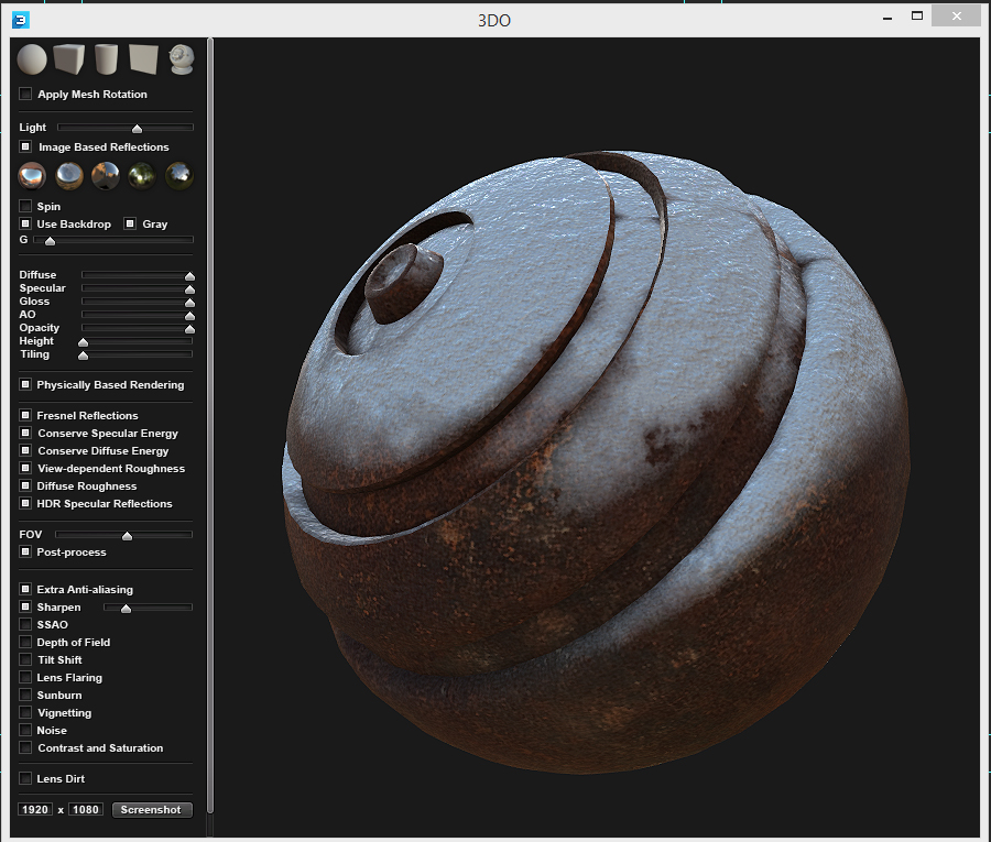 Creating Snow and Rust in DDO for Use in Lightwave 3D!!