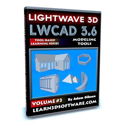LWCAD 3.6 Modeling Tools (Volume #3)