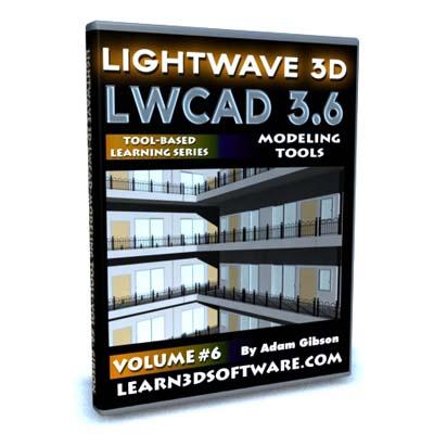 LWCAD 3.6 Modeling Tools (Volume #6)