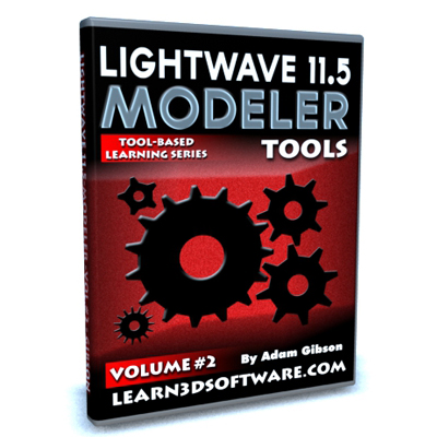 Lightwave 11.5 Modeler Tools -Volume #2