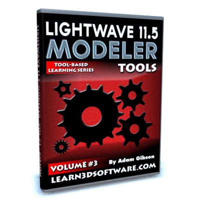 Lightwave 11.5 Modeler Tools -Volume #3