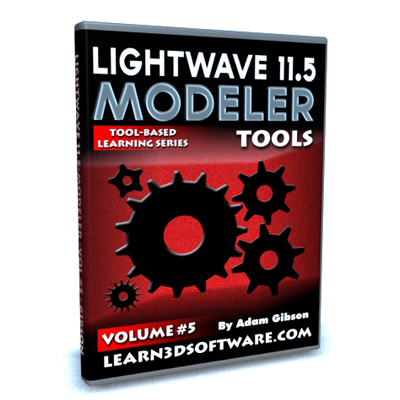 Lightwave 11.5 Modeler Tools -Volume #5