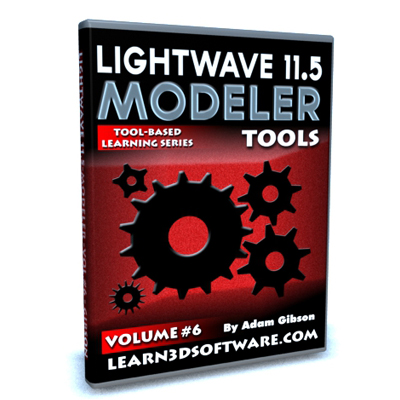 Lightwave 11.5 Modeler Tools -Volume #6