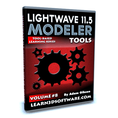 Lightwave 11.5 Modeler Volume #8