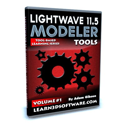 Lightwave 11.5 Modeler Tools- Volume #1