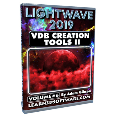 Lightwave 2019- Volume #6- VDB Creation Tools II