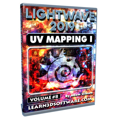 LightWave 2019- Volume #8- UV Mapping I