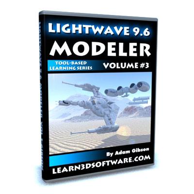 Lightwave 9.6 Modeler Vol #3