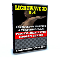 Lightwave 9.6 Advanced UV and Texturing Volume #1