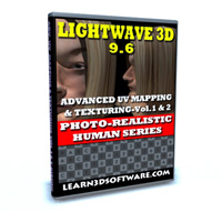 Lightwave 3D 9.6-Advanced UV Mapping & Texturing Vol. #1 & 2