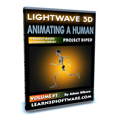Lightwave 11-Animating a Human-Vol.#1-How to Make Your Character Walk