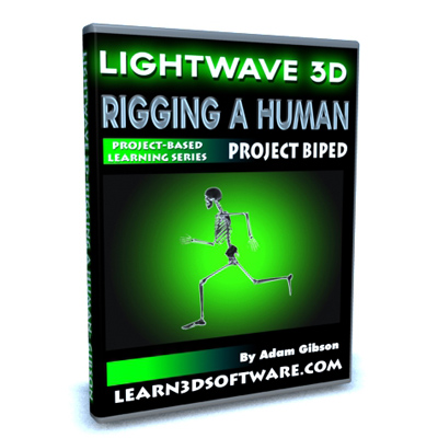 Lightwave 3D-Rigging a Human-Project Biped