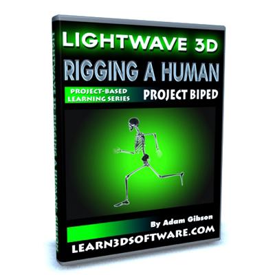 Lightwave 3D-Rigging a Human-Project Biped