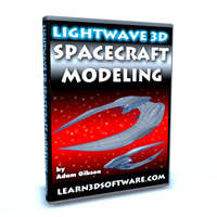 Lightwave 3D Spacecraft Modeling