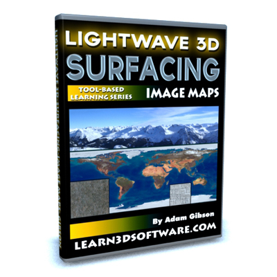 Lightwave 3D- Surfacing- Volume #3-Image Maps