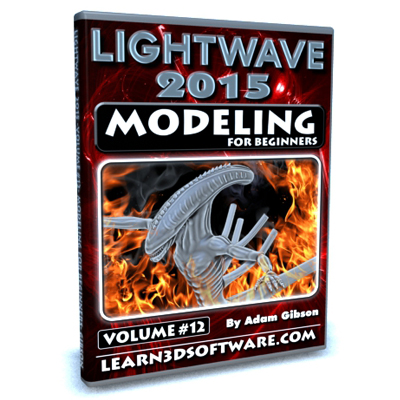 Lightwave 2015- Volume #12- Modeling for Beginners