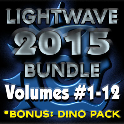 Lightwave 2015 Bundle Pack (12 Volumes)