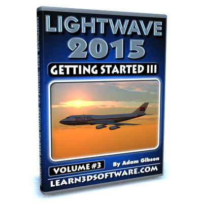 Lightwave 2015- Volume #3- Getting Started III