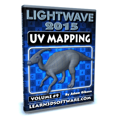 Lightwave 2015- Volume #9- UV Mapping