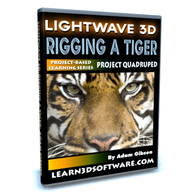 Lightwave 11 -Rigging a Tiger