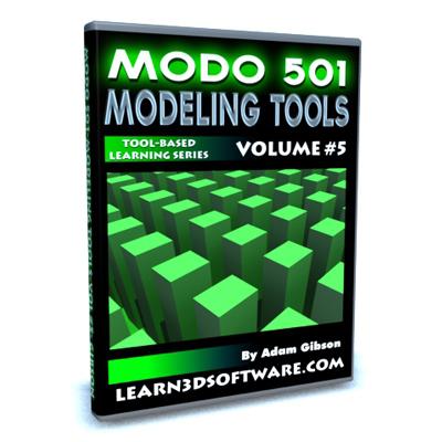 Modo 501 Modeling Tools (Volume #5)