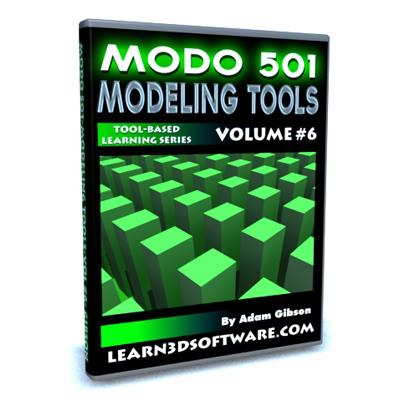Modo 501 Modeling Tools (Volume #6)