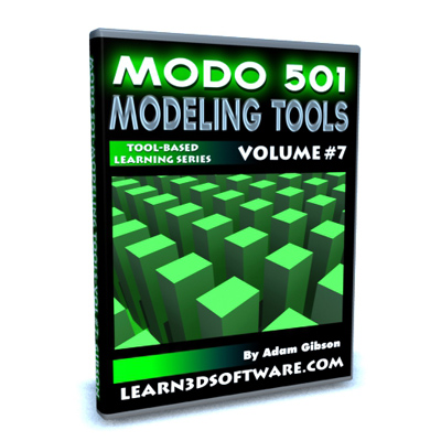 Tutorial Modo 501 Modeling Tools Volume #7