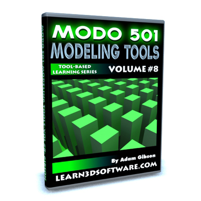 Modo 501 Modeling Tools- Volume #8