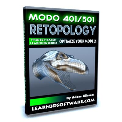 Modo 401/501-Retopology