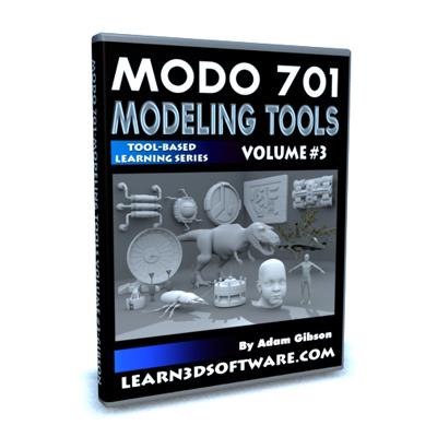 Modo 701 Modeling Tools- Volume #3