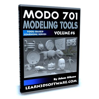 Modo 701 Modeling Tools- Volume #6