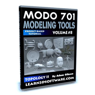 Modo 701- Modeling Tools- Volume #8- Topology II
