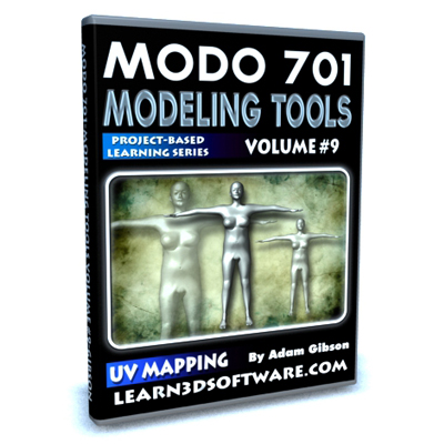 MODO 701 Modeling Tools-Volume #9- UV Mapping a Human