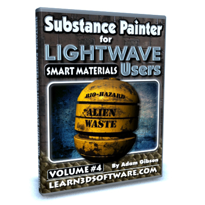 Substance Painter for Lightwave Users-Vol.#4-Smart Materials
