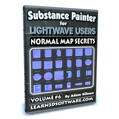 Substance Painter for Lightwave Users- Volume #6- Normal Map Secrets