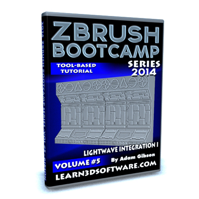 ZBrush Bootcamp 2014- Volume #5- Lightwave Integration I