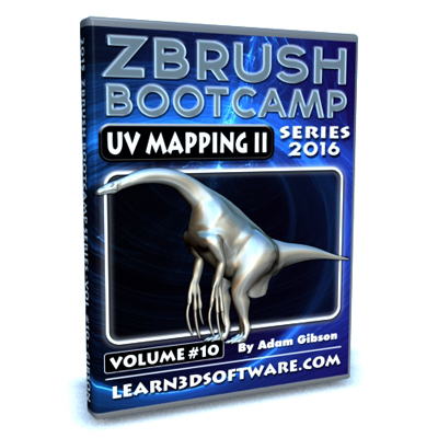 ZBrush Bootcamp- Volume #10- UV Mapping Secrets II [AG]