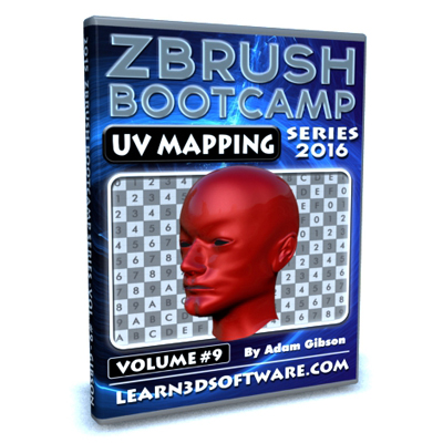 ZBrush Bootcamp- Volume #9- UV Mapping Secrets I [AG]