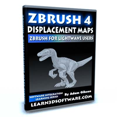 ZBrush 4 for Lightwave Users-Displacement Maps