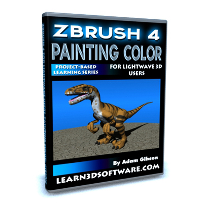 ZBrush 4 for Lightwave Users-Painting Color