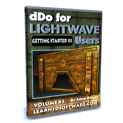 DDO for Lightwave Users- Volume #3- Getting Started III