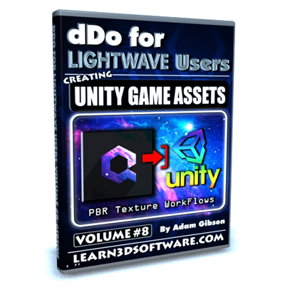 DDO for Lightwave Users- Volume #8- Creating Unity Game Assets