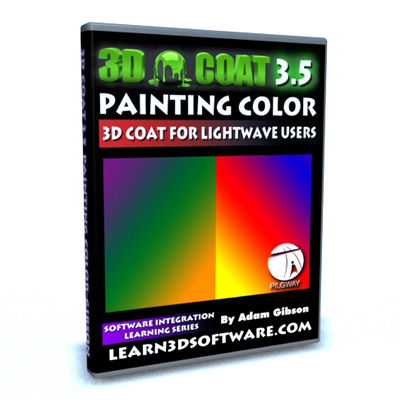 3D Coat 3.5 for Lightwave Users-Painting Color
